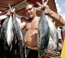 TUNA is sustaining fishing communities along the Lagonoy Gulf. Photo courtesy of WWF Coral Triange.